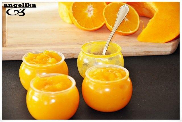 Тыквенно-апельсиновый курд