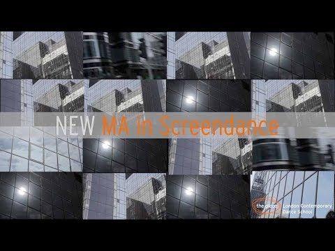 New: MA in Screendance | London Contemporary Dance School