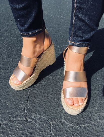 e8646d84d08 My most worn shoes this summer were these  dolcevita rose gold sandals 💗  They are so comfortable and match everything.  ShopStyle  shopthelook   SummerStyle ...
