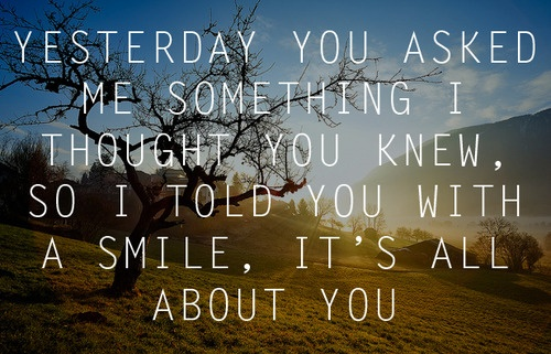It's All About You - McFly