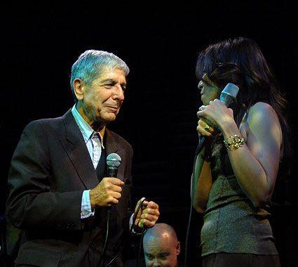 Leonard Cohen  Anjani @ Joe's Pub