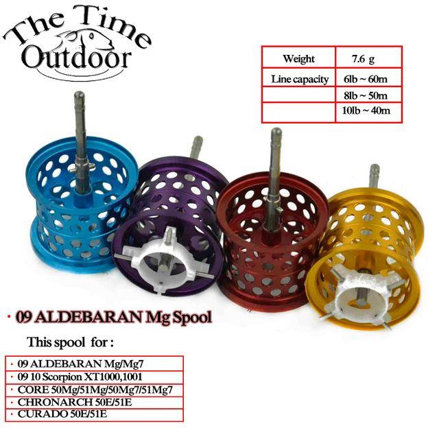 09AMG7 10 Scorpion XT CORE CURADO Modified Spool Modified DIY Spool For Shimano Fishing Reel Spool Multiple Color