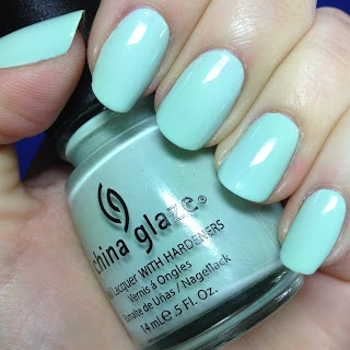 "Must. Buy. China Glaze ""Re-Fresh Mint."""