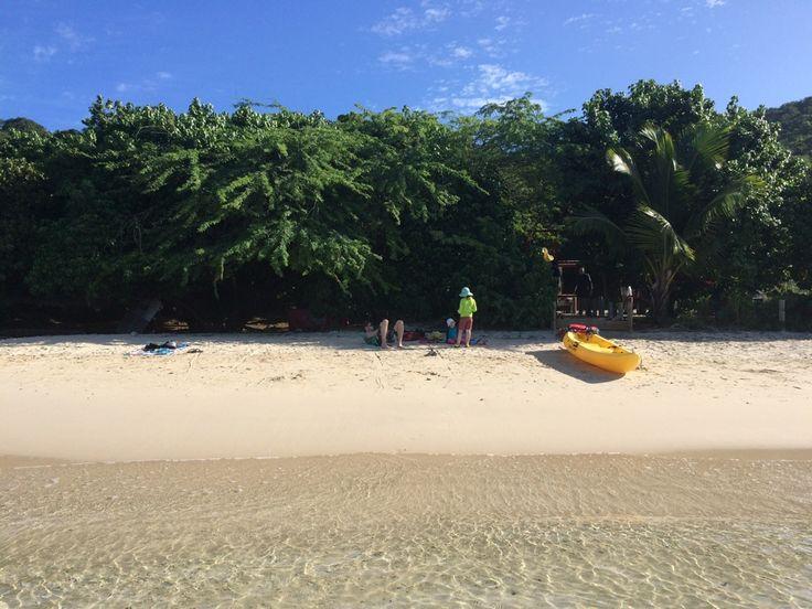 Tamarindo strand på Culebra i Puerto Rico