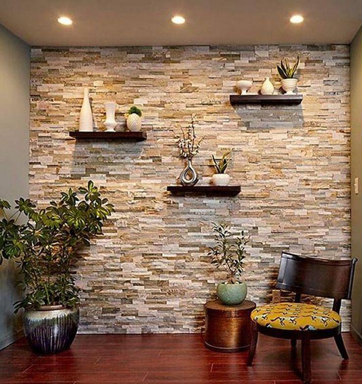касается только декорация стен камнем в квартире фото матросская лентой