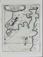FISTERRA. Carta náutica que comprende a ría de Corcubión e a costa próxima ó Cabo Fisterra.