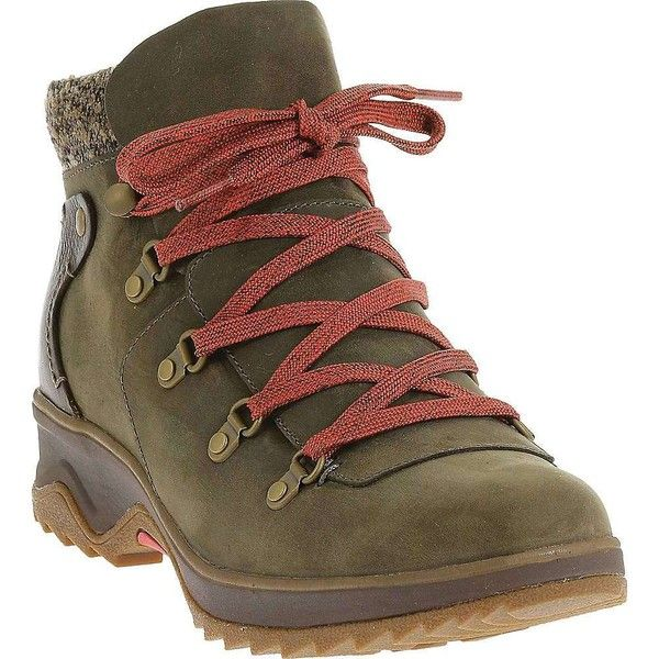 Merrell Women's Eventyr Bluff Waterproof Boot ($170) ❤ liked on Polyvore featuring shoes, boots, bungee cord, waterproof footwear, water proof shoes, merrell, merrell boots and merrell shoes