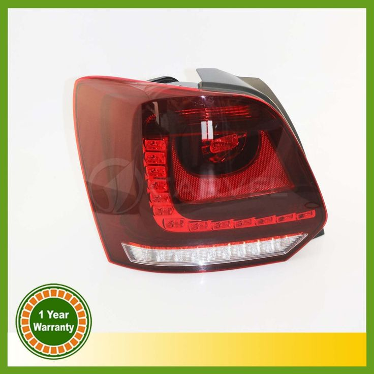 199.99$  Buy here - http://ai2hn.worlditems.win/all/product.php?id=32802272720 - New For VW Polo 2010 2011 2012 2013 Left Side LED Tail Light Rear Light 6R0945095
