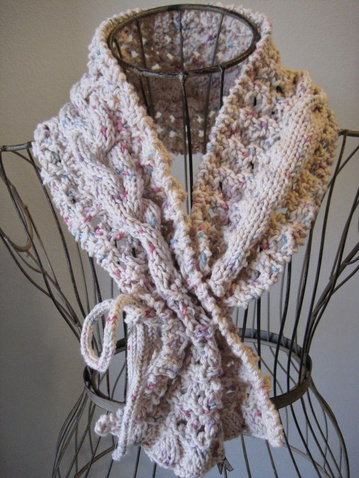 b8f73f11e02f Balls to the Walls Knits  Grand Picot Eyelet Cowl Crafts - Knitting Pattern.
