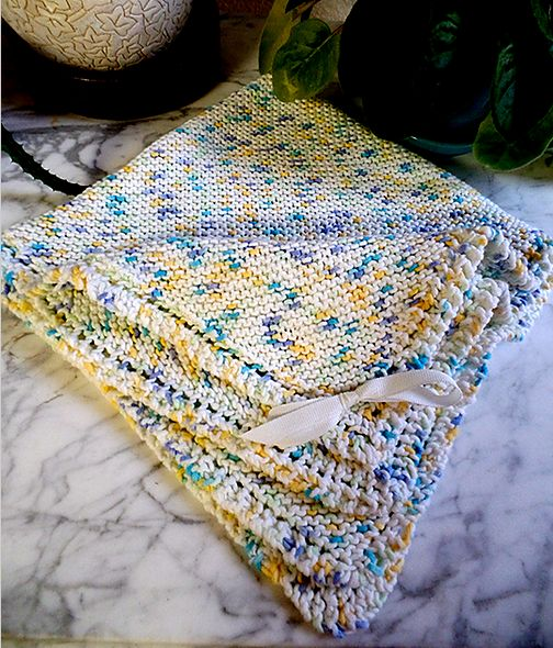Knitting Pattern For Baby Blanket Beginner : 1000+ ideas about Beginner Knitting Blanket on Pinterest ...