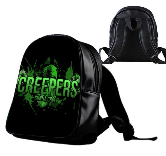 Minecraft Creeper   Backpack/Schoolbags for kids. by Wonderfunny #Minecraft #backpack #schoolbags #gift #birthday