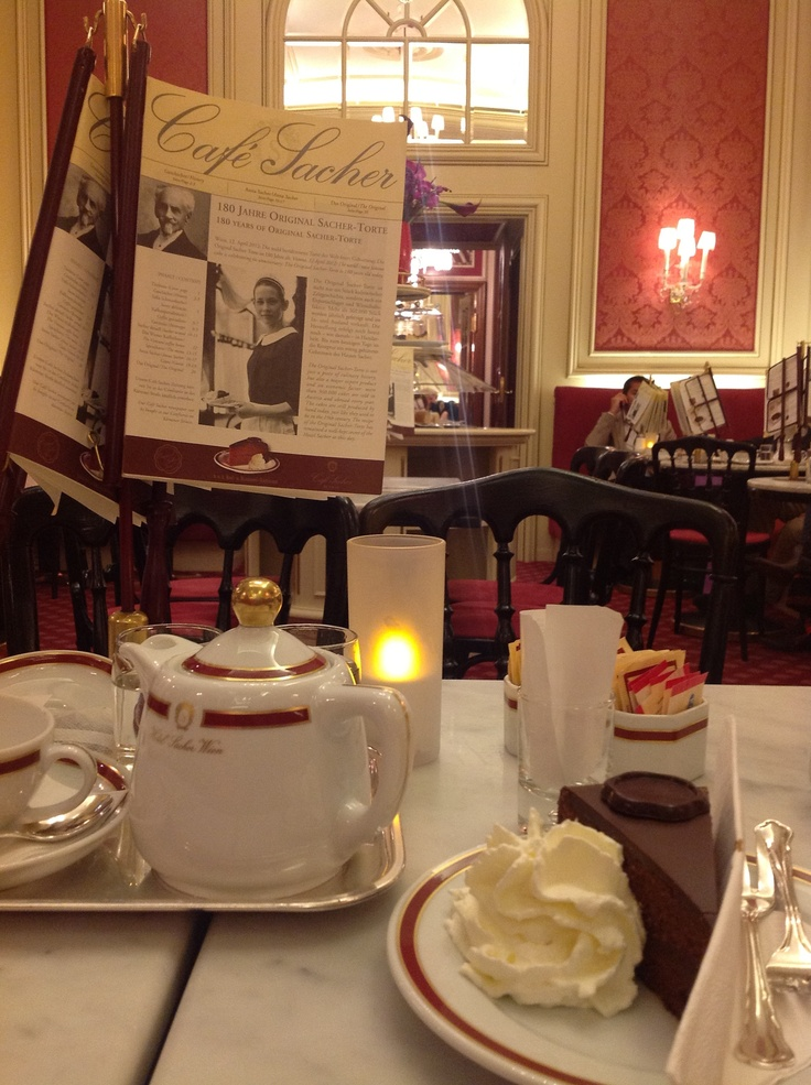 Cafe Sacher, Vienna