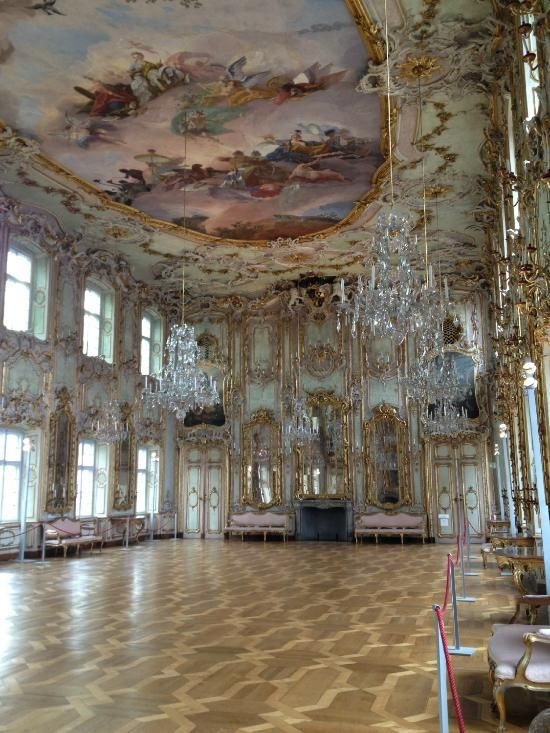 Schaezlerpalais (ballroom, paintings) - Augsburg, Germany