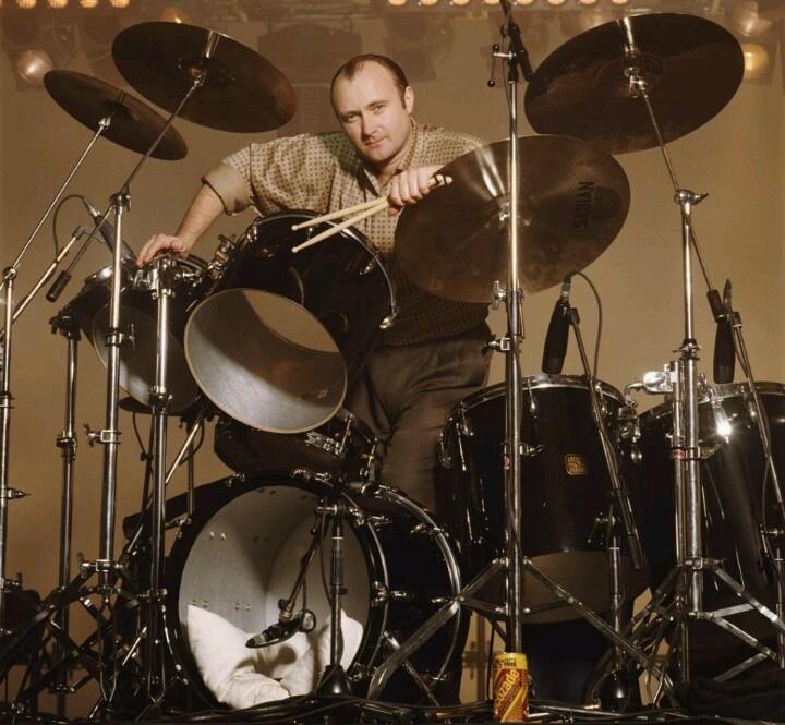 Genesis Drummer Phil Collins