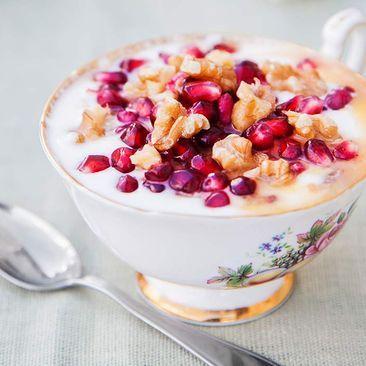 Recept på Yoghurt med granatäpple - MatHem