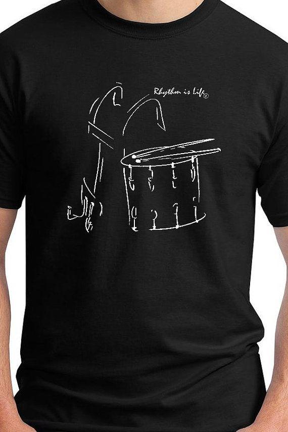 Marching Snare Drum T-Shirt von RhythmIsLife auf Etsy