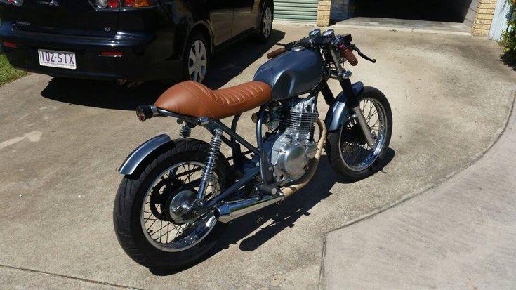 Suzuki GN250 #suzuki #gn250 #bike #ride #bratstyle #