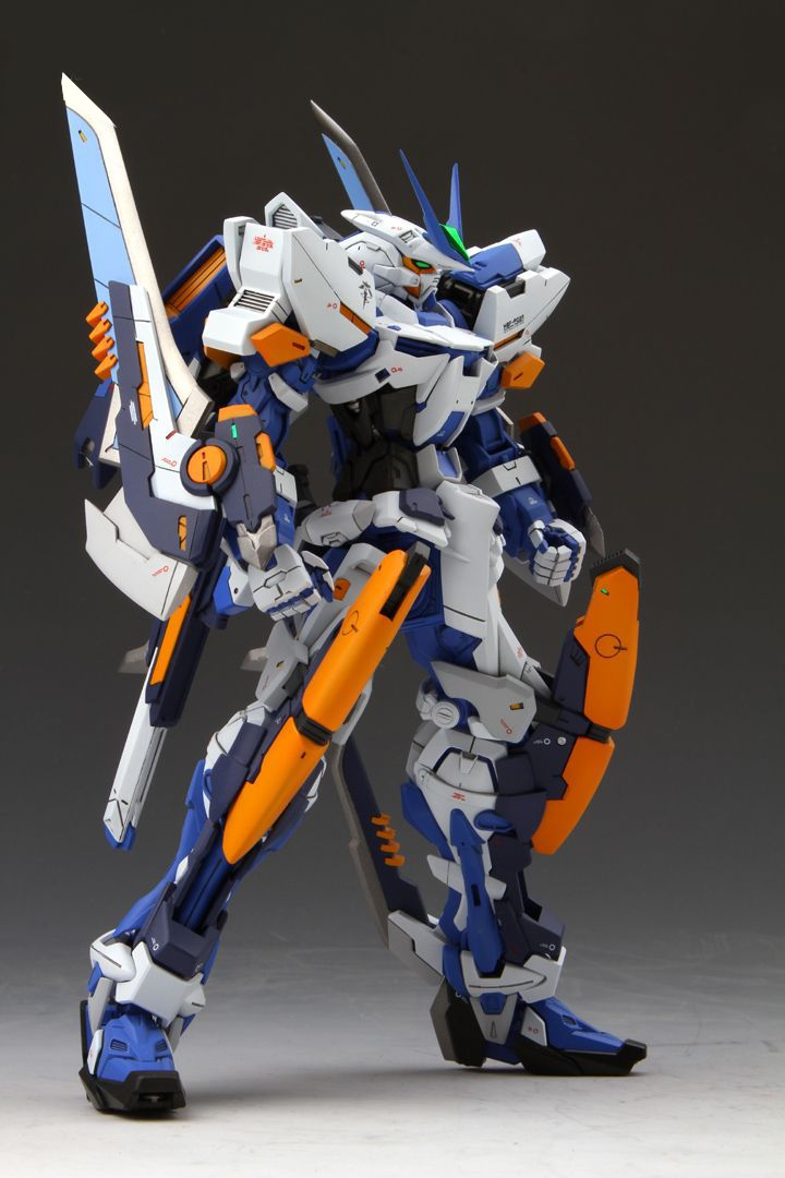 GUNDAM GUY: MG 1/100 Gundam Astray Blue Frame L3 Type - Customized Build