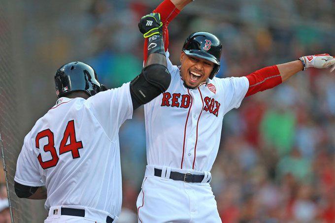Medias Rojas de Boston apaleó a Azulejos gracias a Betts y Ramírez #Beisbol #Deportes