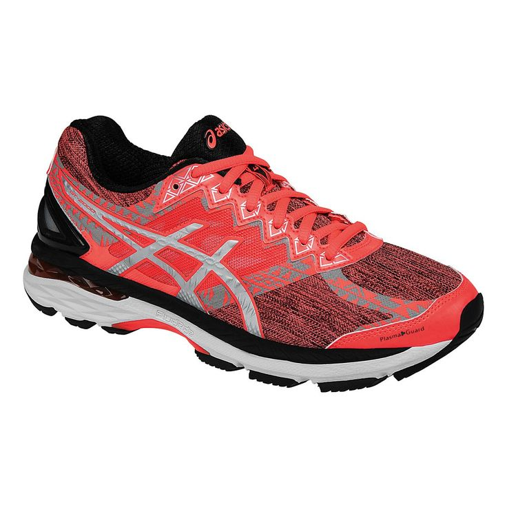 Set your nocturnal side free in the smooth cushion and awesome support of the Womens ASICS GT-2000 4 Lite-Show PG