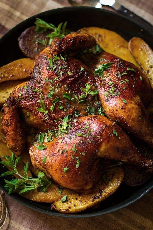 Smoked Paprika and Oregano Roast Chicken Recipe