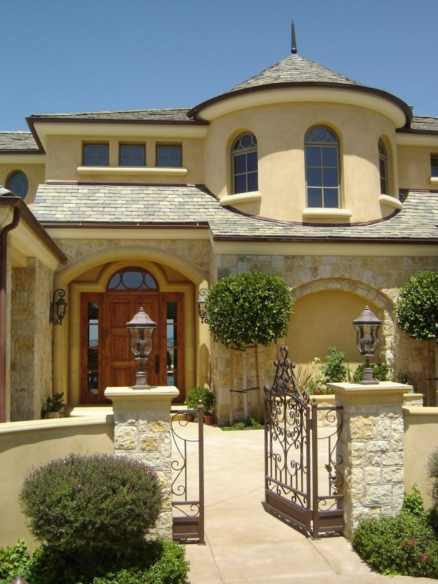1000 ideas about tuscan homes on pinterest tuscan style for Old world house plans courtyard