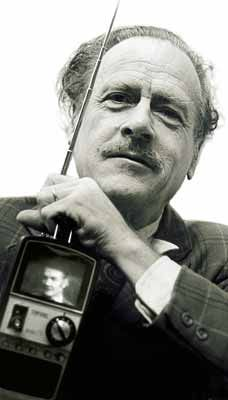 """Marshall McLuhan -- """"The Medium is the Message"""" -- """"I don't necessarily agree with everything I say."""""""