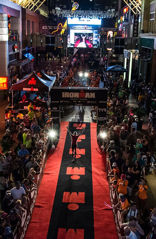 IRONMAN Louisville: With its downtown finish line, the bluegrass capital of the country hosts one of the most vibrant IRONMAN venues on the circuit.