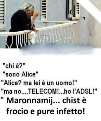 Vignetta su chi è Alice Telecom ADSL