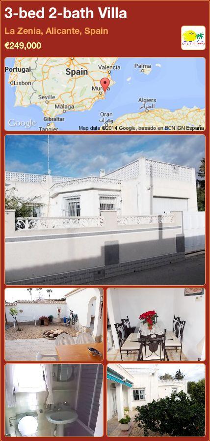 3-bed 2-bath Villa for Sale in La Zenia, Alicante, Spain ►€249,000
