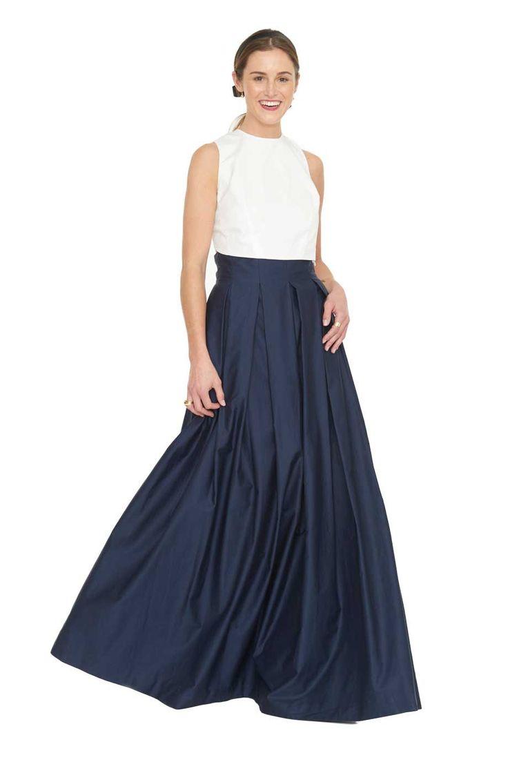 Inverted Pleat Skirt