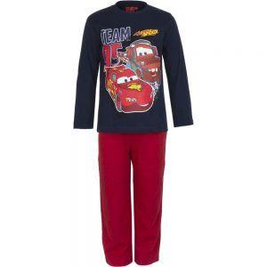 Disney kinderpyjama van CorazonKids Cars Team 95 Donker Blauw. Dit is een kinderpyjama heeft een rode broek voor de koude winter dagen. De trui heeft een ronde halslijn, lange mouwen en een grote print opdruk van Cars De Disney Disney kinderpyjama van CorazonKids Cars Team 95 Donker Blauw heeft een rode lange broek die is voorzien van een elastische tailleband.