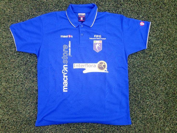 La maglia della Nazionale Italiana Footgolf che parteciperà all'European Championship in programma dal 23 al 25 maggio 2014 a Budapest.