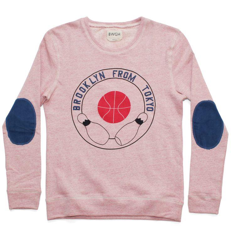 "Brooklyn We Go Hard ""Brooklyn from Tokyo"" Sweater. £95."