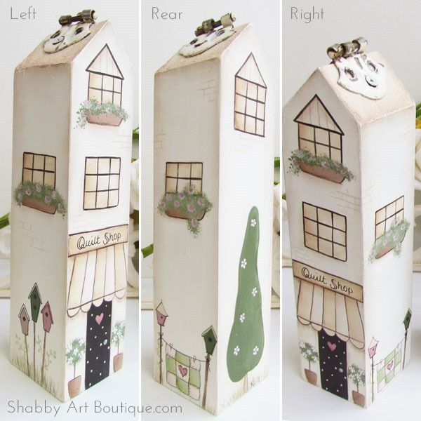 DIY ~ Shabbilicious Village Shops - gasto Art Boutique