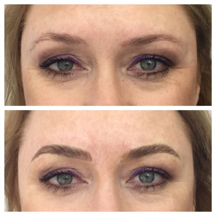 Brow Embroidery. Balancing out beautiful brows