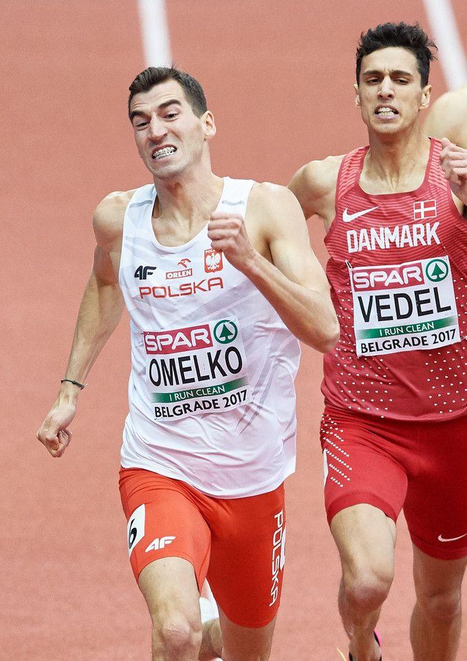 Kacper Kozłowski, Łukasz Krawczuk, Przemysław Waściński, Rafał Omelko - złoto w sztafecie 4x400 m