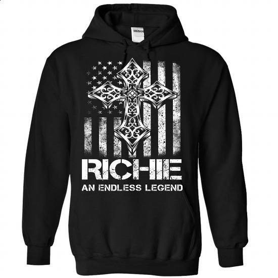 RICHIE An Endless Legend - #tshirt tank #hoodie casual. BUY NOW => https://www.sunfrog.com/Valentines/RICHIE-An-Endless-Legend-Black-Hoodie.html?68278