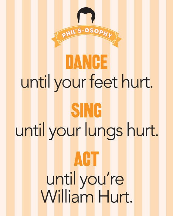 """""""Dance till your feet hurt.."""" 'Phils-osophy' ~ Quote Poster by Carol (popartpress) ~ Modern Family Quotes #modernfamily #modernfamilyquotes"""