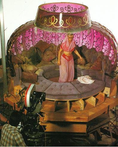 "How they filmed the scenes inside the bottle in ""I Dream of Jeannie"" = Kind of wish I didn't know this, it takes away the magic"