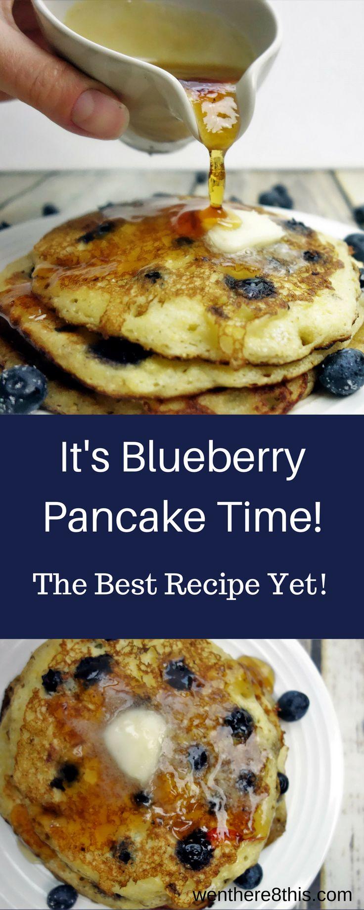 Delicious Blueberry Cornmeal Pancakes with Lemon Syrup blueberry pancakes easy, blueberry pancakes recipe, best blueberry pancakes, pancakes recipe, breakfast recipe, lemon syrup recipe, fresh lemon syrup, blueberry and lemon, corn meal pancakes, cornmeal blueberry pancakes, blueberry lemon cornmeal pancakes