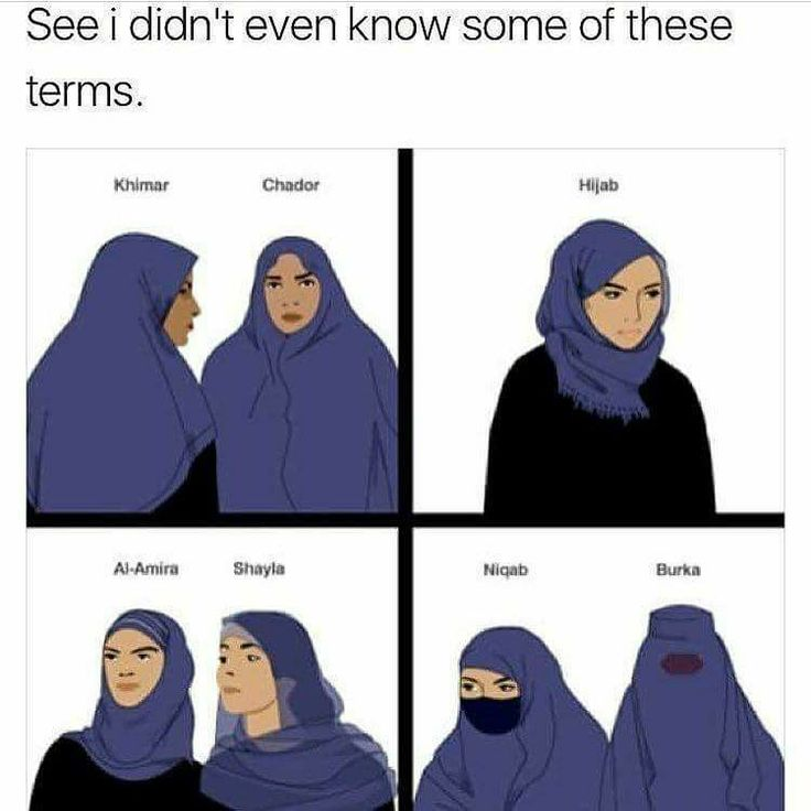 This is useful since a few months ago I called a hijab a freaking turban in the middle of telling a Trump supporter off for talking shit about muslims ... I really should do my research before I go defending someone while using the wrong info. I was way off ... way way way ... off.