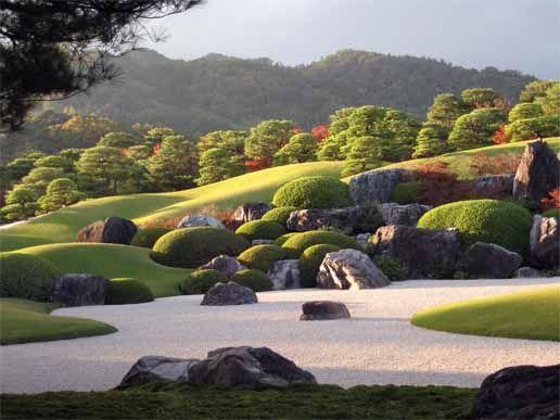 Adachi Museum in Yasugi #Japan #Gardens #Yasugi
