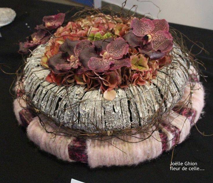 Joelle Ghion de la boutique Fleur de celle... Styliste florale