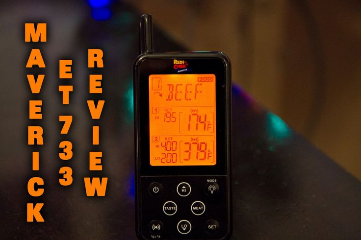 My Maverick ET 733 Wireless BBQ Thermometer ..KEEP KEEP KEEP, when I need to calibrate etc