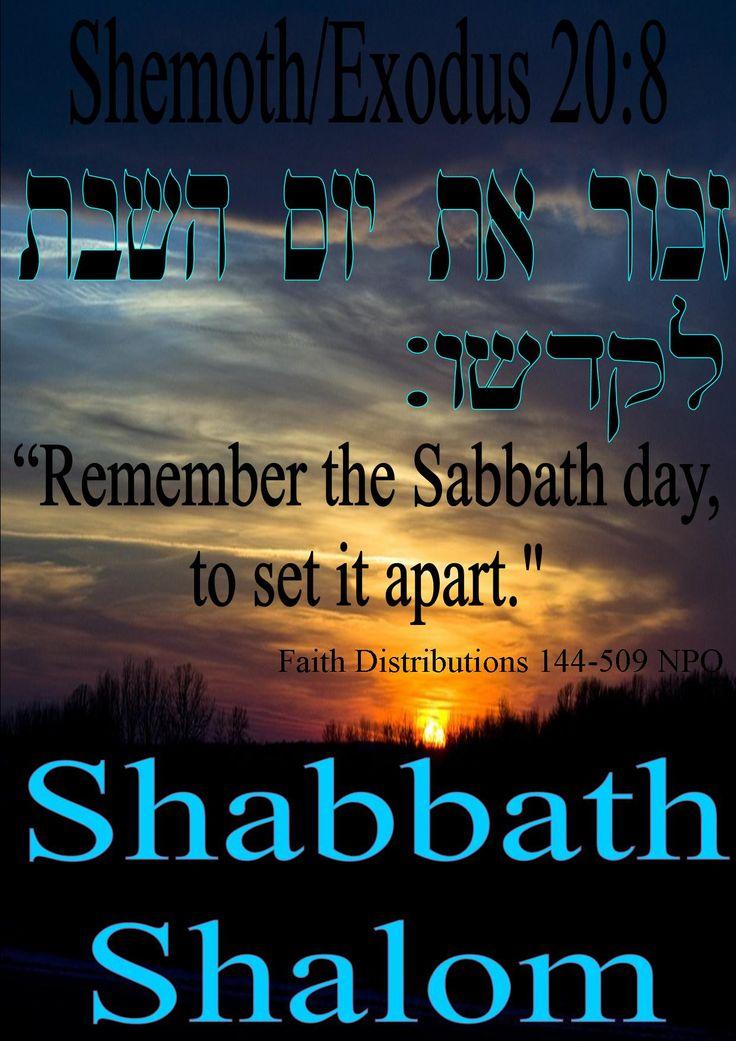 Shabbath Shalom! Todah Rabah YAHWEH