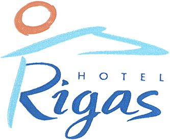 Rigas Hotel  Logo in Skopelos Island