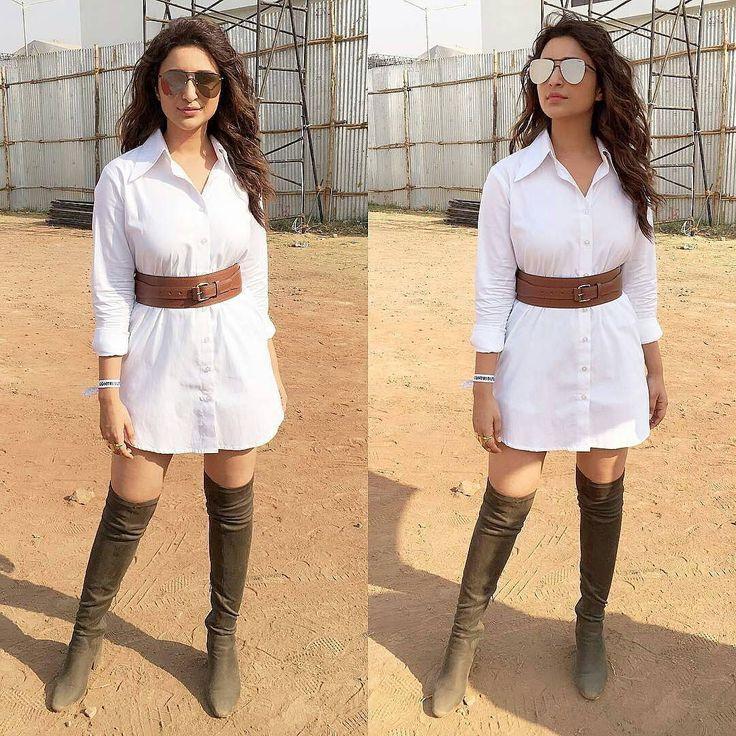 #parineetichopra @parineetichopra looking stylish