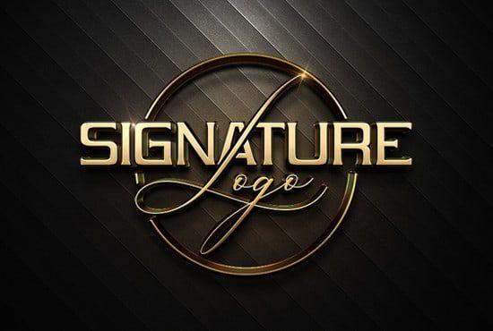 Bagraphix786 i will design stunning signature logo for