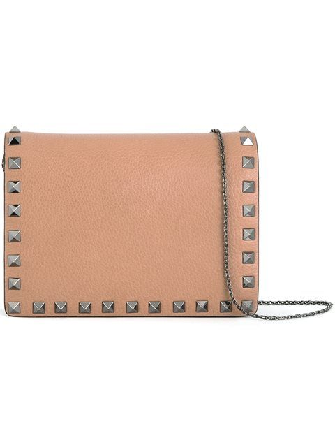 VALENTINO 'Rockstud' Crossbody Bag. #valentino #bags #shoulder bags #leather #crossbody #